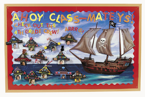 Pirate Bulletin Board | Fun Ideas by Oriental Trading